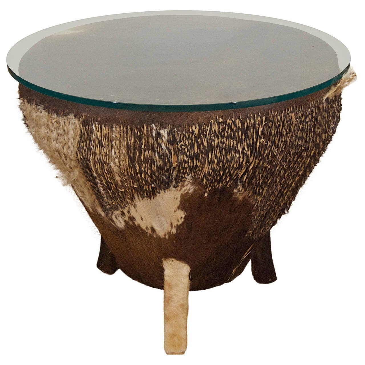 African Drum Table Flessas Design