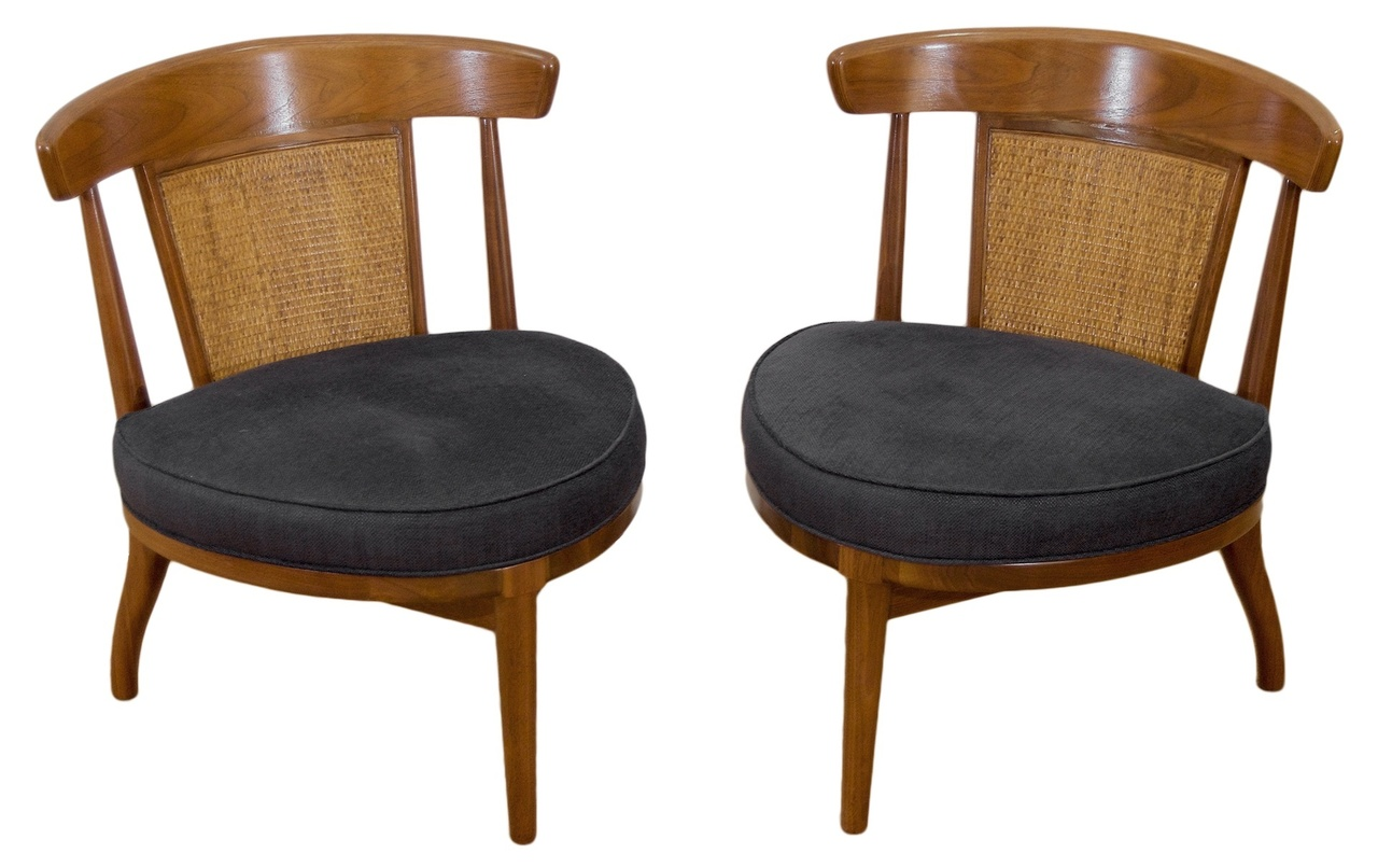 pair of drexel heritage cane back chairs 2 pairs